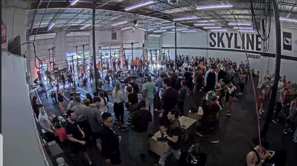 Granite Games Throwdown was a success! Thank you to all Volunteers, Judges, and athletes for showing what Skyline CrossFit is all about! Great day with great people!