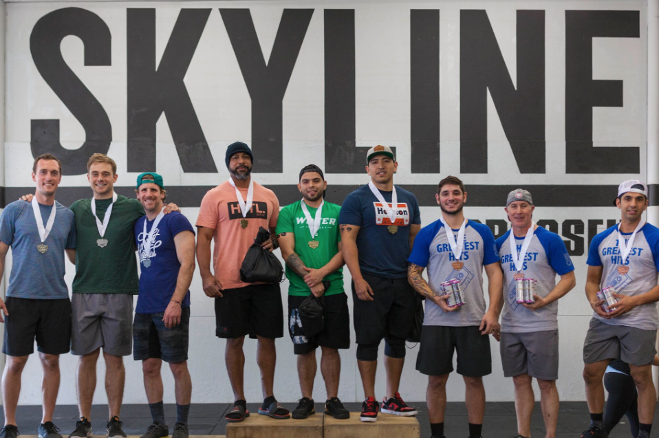 Congratulations to 4 of our members for climbing on top the podium at Granite Games. Connor Pfister, Grant Billings, Keving Beckering, and Alex Lopez!