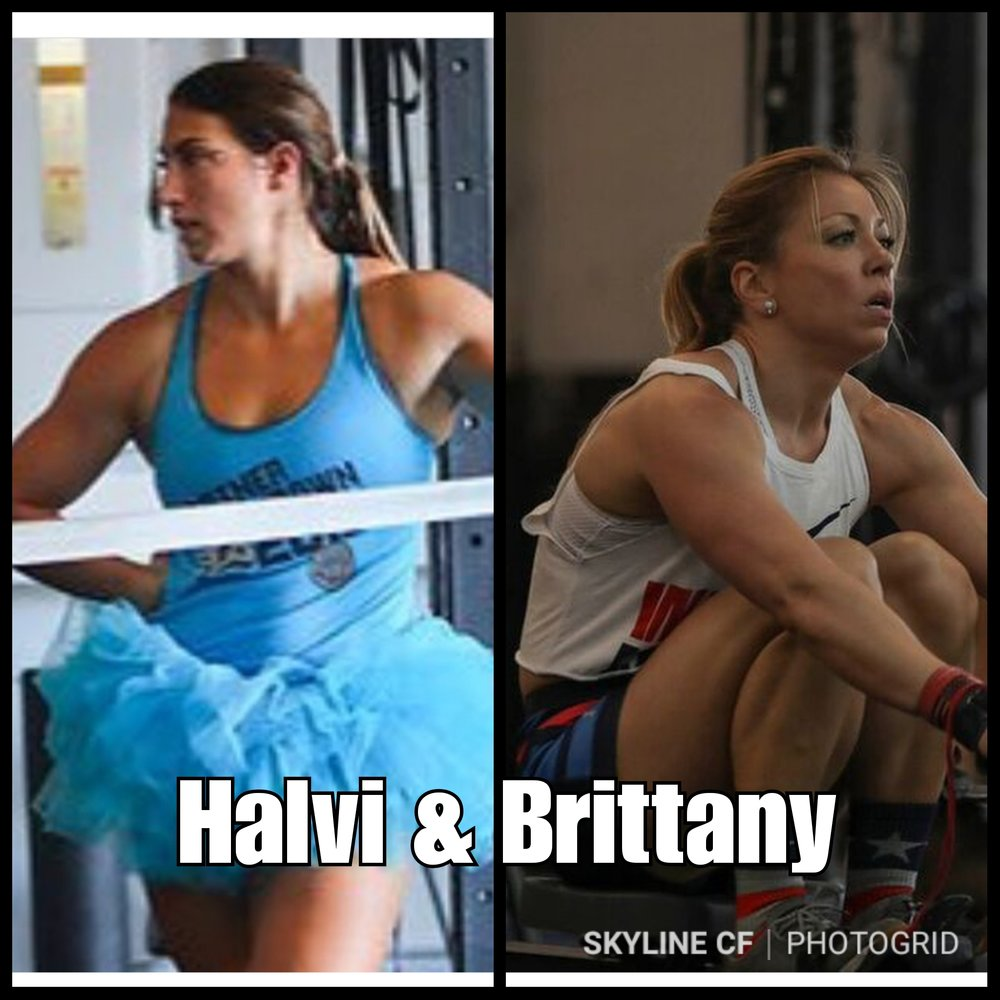 "Brittany and Halvi will be attacking ""Friday Night Lights"" as our first all girl RX Team!"