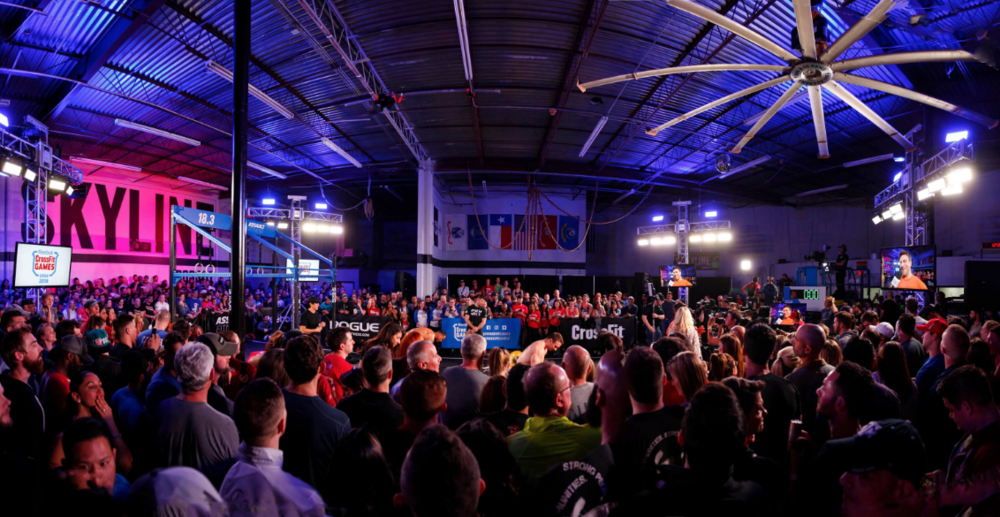 Skyline hosted a major event last year with the CrossFit Games. There was 13,000 affiliates at the time and we were lucky to be chosen out of that large number.