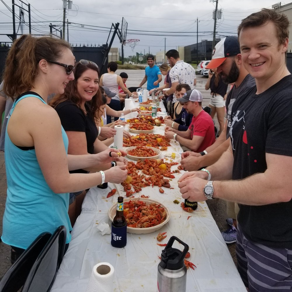 3rd Annual Crawfish Boil was a success. Thanks everyone for showing up!