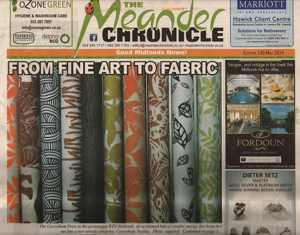Meander Chronicle | May 2015