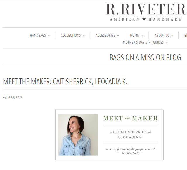 LK/Cait Sherrick on R. Riveter