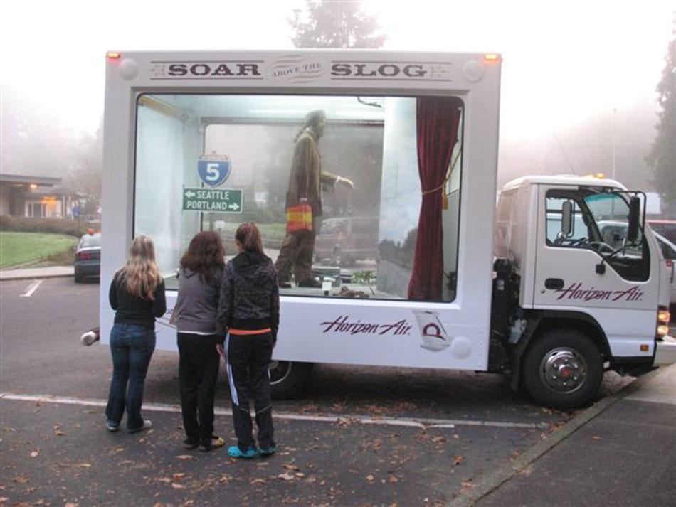 Mobile Slog museum traveled I-5.