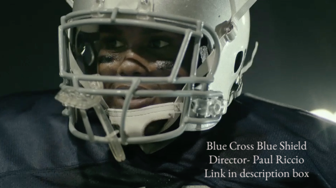 Blue Cross Blue Shield- Football