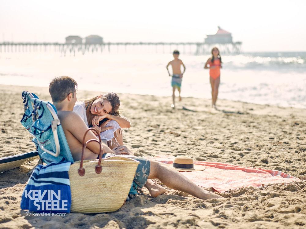 Makeup asst. Huntington Beach Tourism-Photographer Kevin Steele