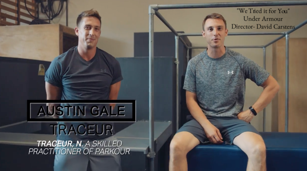Key makeup for  Under Armour - Director David Carstens