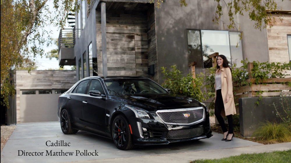 Hair and makeup- Cadillac- Director Matthew Pollock.  Please contact me for video!