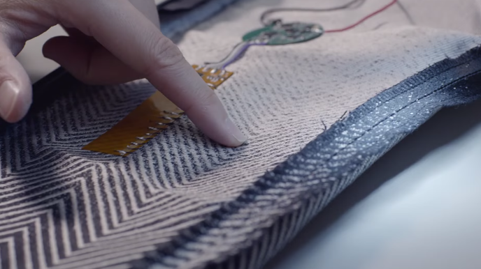 Google/Project Jacquard Fabric
