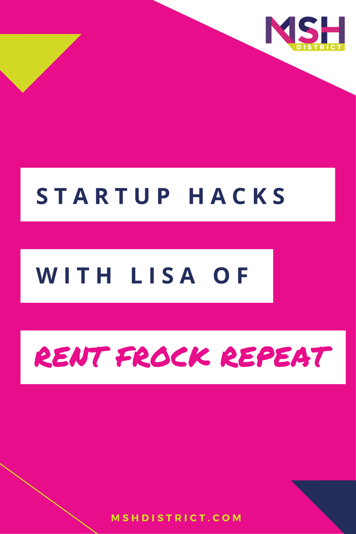Startup Hacks with Lisa Delorme of Rent Frock Repeat. MSH District - Fashion Startup Fund. Getting people to listen and take you seriously when you're starting out is a HUGE piece of launching a new startup - find out some simple hacks to get people to sit up and take notice. Lisa Delorme, Co-Founder of Rent Frock Repeat gives us the inside scoop. mshdistrict.com/blog/interview-lisa-delorme