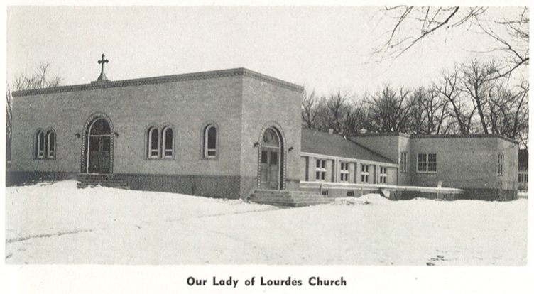 Our Lady of Lourdes Church - 1949.png