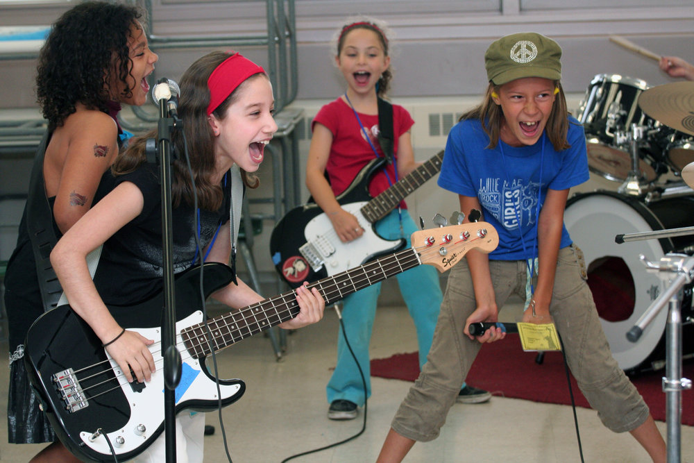 for Willie Mae Rock Camp for Girls, a music and mentoring program