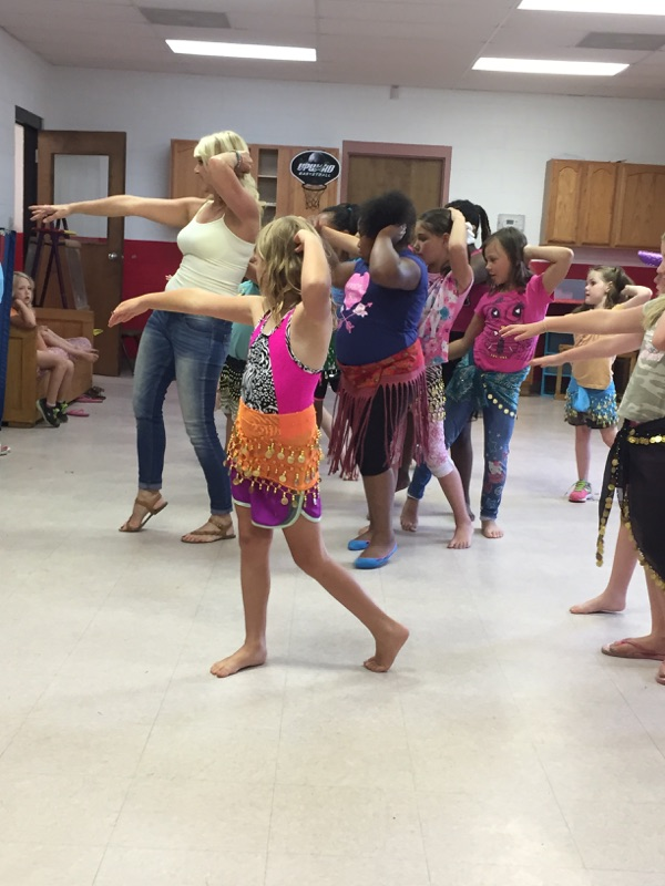 Learning to Belly Dance!