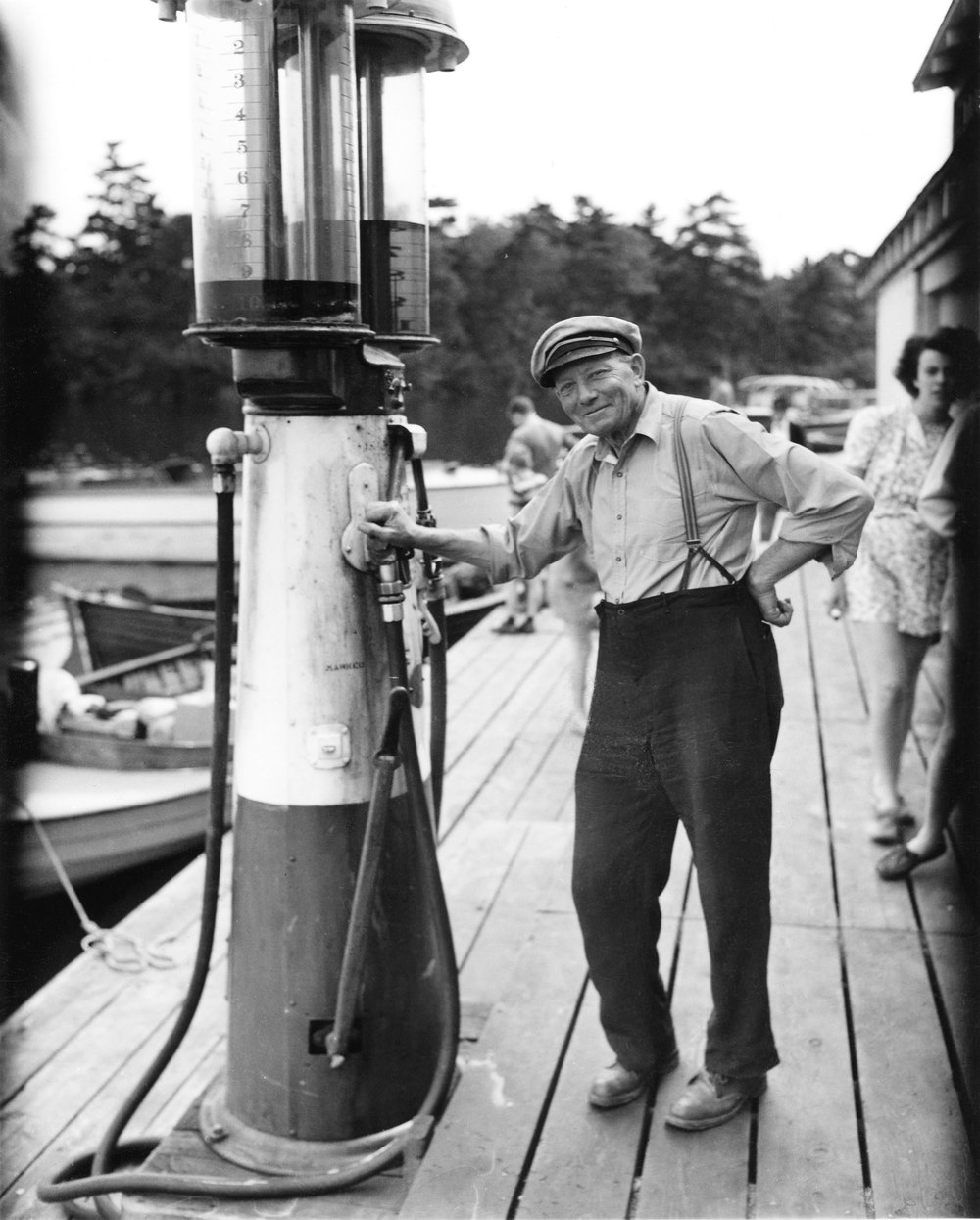 Bert Bruckland ruled the dock with a firm, genial hand. He was, for many, the personification of an Ojibway summer.