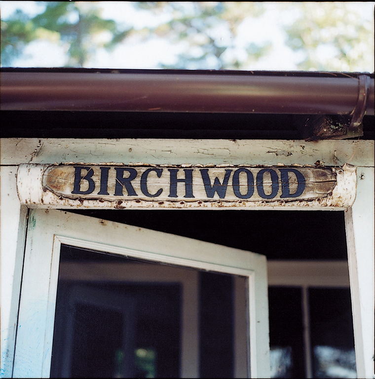 Birchwood, built in 1906, was the oldest of the Ojibway's seven cottages, all named after indigenous trees.