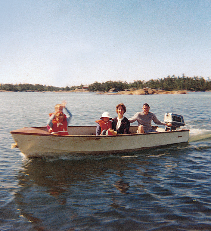 "By the 1950s, steamers, such as the  Mazeppa  (right) – offering the ""finest freshwater trips in the world,"" according to the North Navigation Company – were visions of the past. Increasingly, families travelled to Pointe au Baril by automobile and made use of their own small outboards to get to their cottages and to the Ojibway."