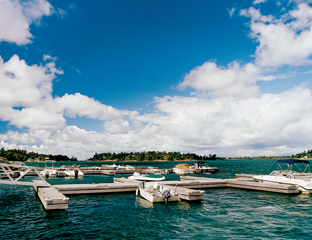 A hundred years after Hamilton Davis opened the Ojibway for business, the myriad boats that regularly tie up to its dock are testament to the hotel's continued popularity.