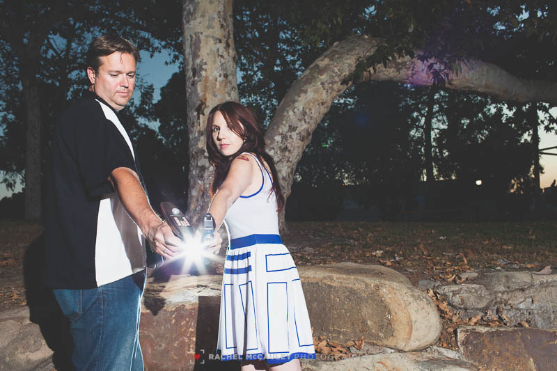 star wars trek comic engagement photo-0720