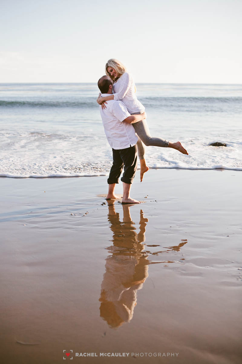 el matador beach engagement-6987