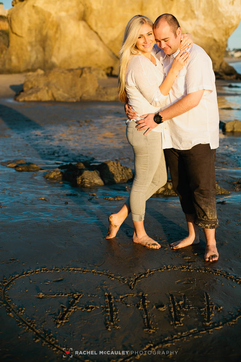 el matador beach engagement-7271