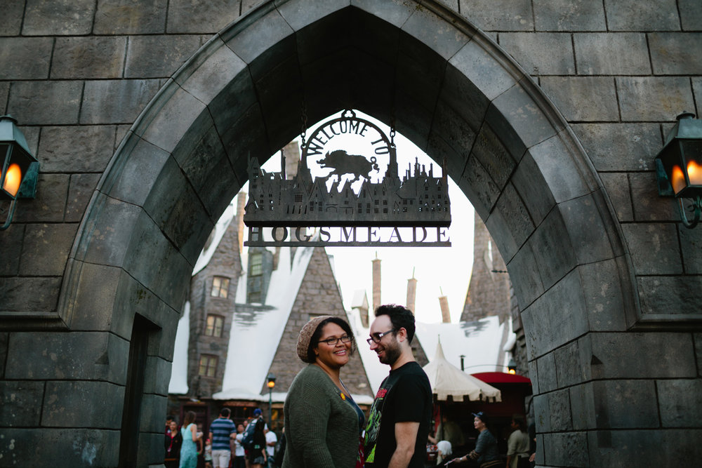 Inthia & Robert :: Disneyland Resort & Wizarding World of Harry Potter