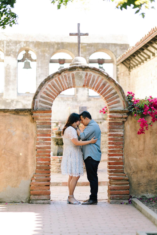 Andrea & Kenny :: Mission San Juan Capistrano