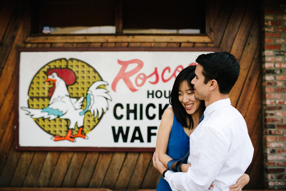 roscoes chicken and waffles engagement-101.jpg