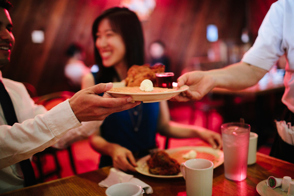 roscoes chicken and waffles engagement-113.jpg