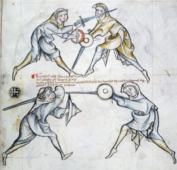 MS I.33 on vanhin toistaiseksi löydetty miekkailuopas.