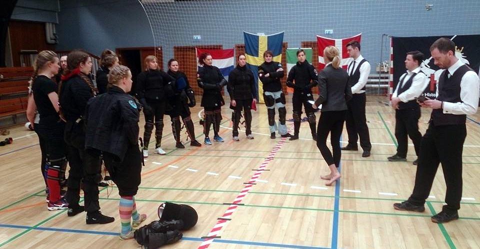 Naisten sarjan osallistujiaCopenghagen Open -kilpailussa Huhtikuussa.
