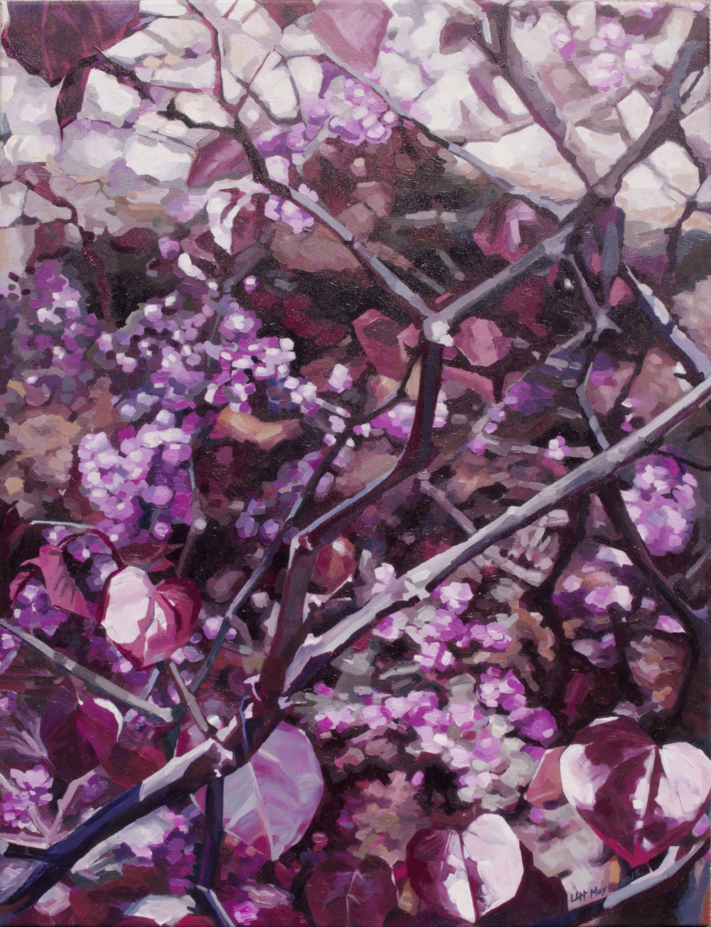 Purple Heart 36%22X47%22 by Lin Lin Hu.jpg