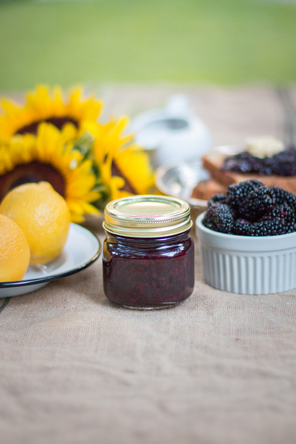 Blackberry Compote with Lemon