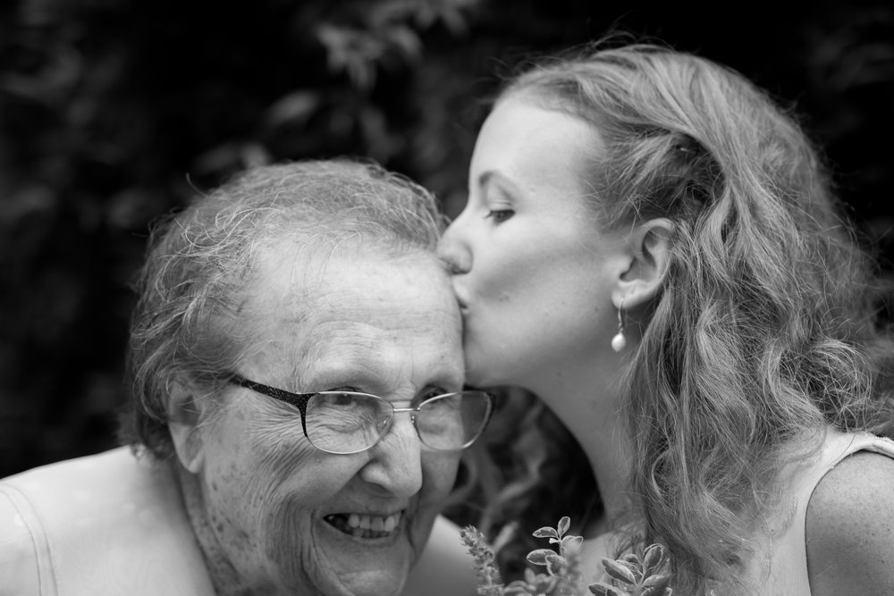 Nothing better than the love of a grandmother <3