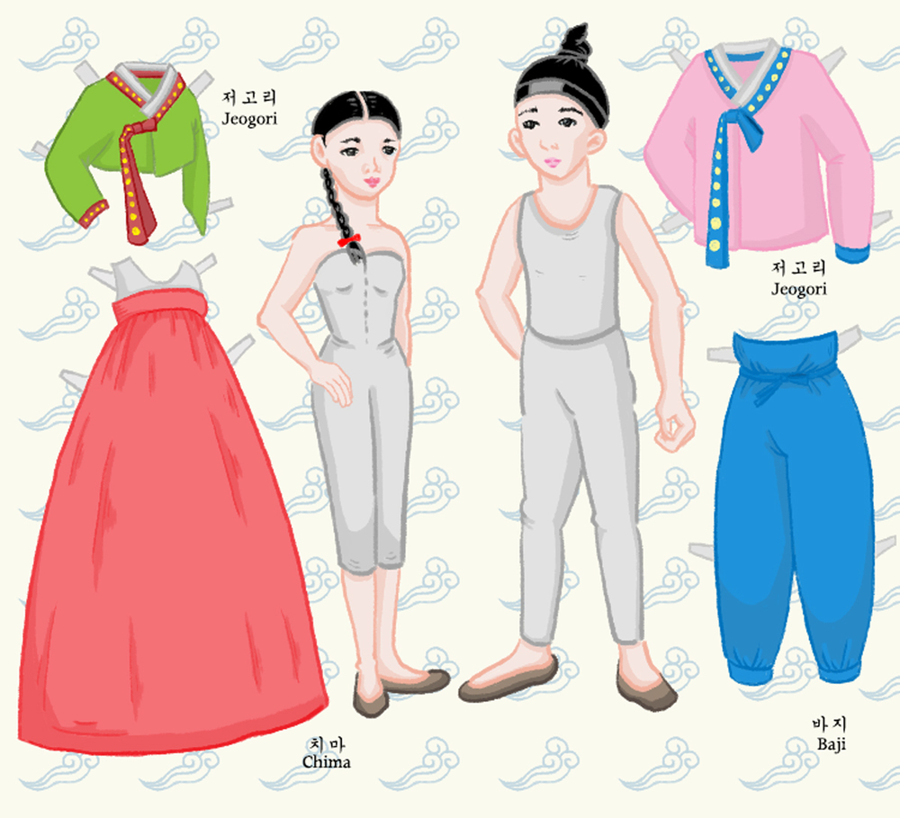 Korean-Hanboks-Illustrated