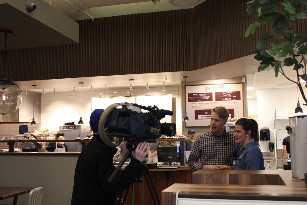 January 19 was our official opening date. KY3 came again to do a story on our opening, which was amazing (we've still never seen that story, since we were at the restaurant for about 20 hours that day).