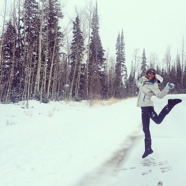Winter wonderland! #liferocks