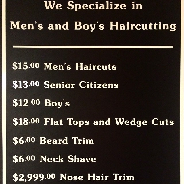 What else needs to be said? #priceless #9to9barbershop