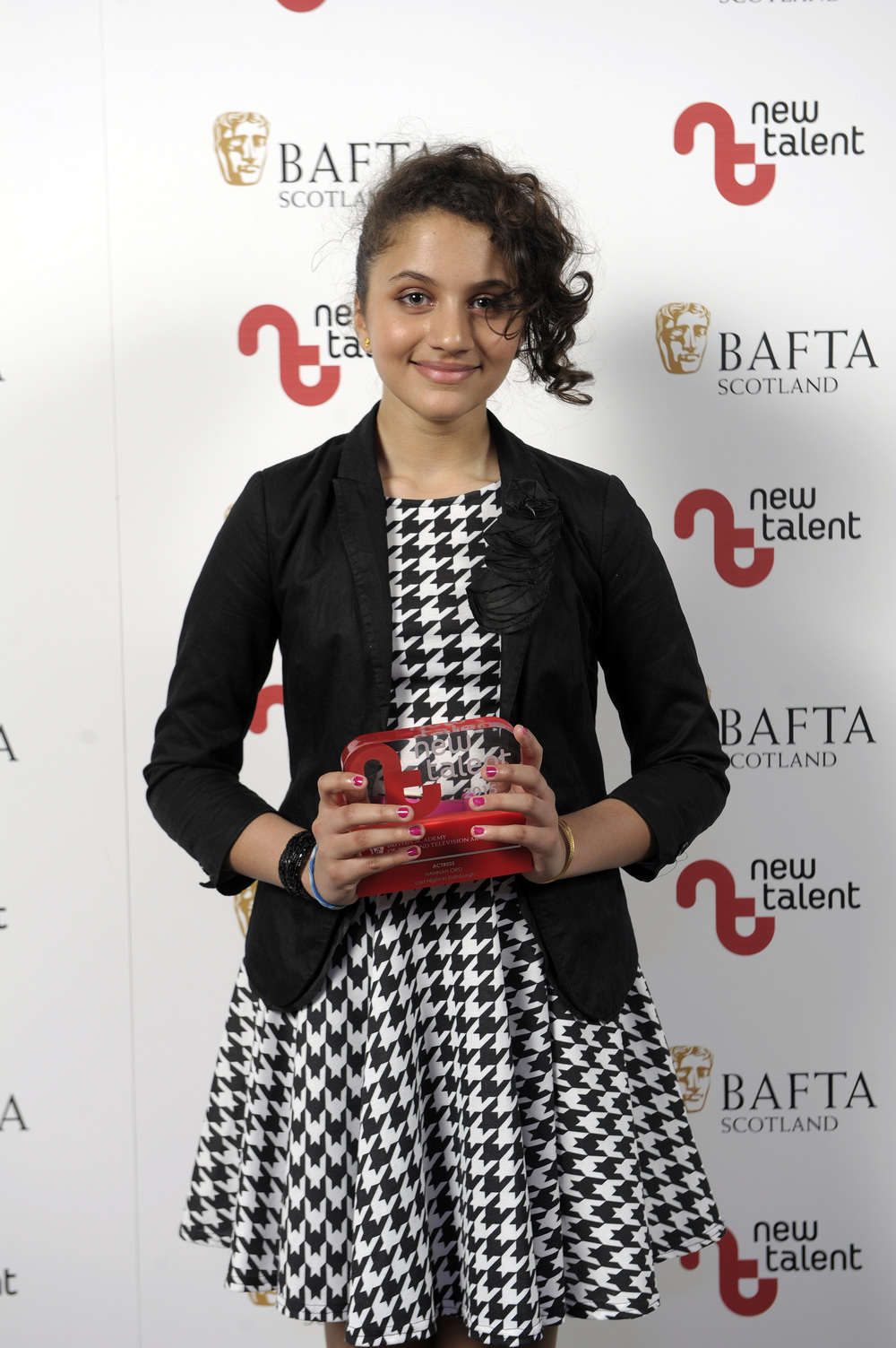Hannah Ord Wins the Best Actress Award at BAFTA Scotland New Talent Awards