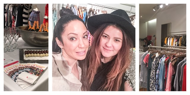 Photos from the Shop for a Cause Event @ Intermix.