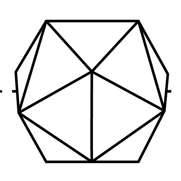 3. Projection Mapping Icon The projection mapping icon is inspired by Bucky Fuller'sdymaxion projectionand represents a map of the world. This icon has a double meaning as it links both the digital and the physical. The map represents cartography as the discipline of effectively communicatingspatial information and data-visualization. It also represents the earth and the scale at which design thinking can expand beyond the pixel and the nail.