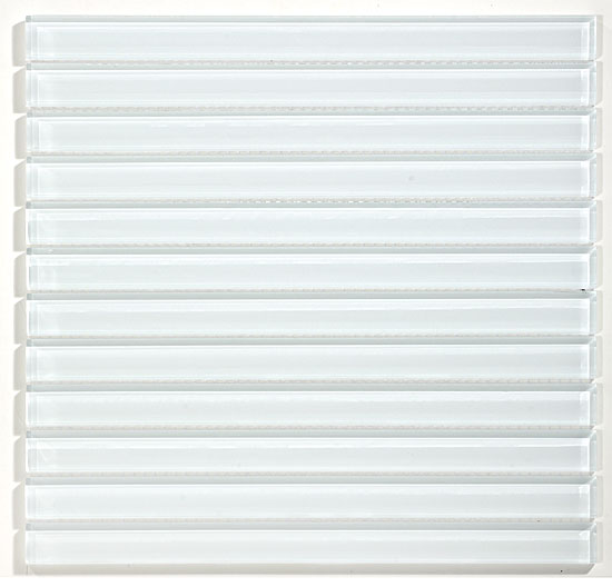 "Super White 1""X 12"" Linealty"