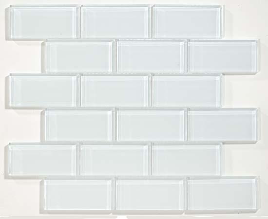 """Super White 2""""X 4"""" Brick"""