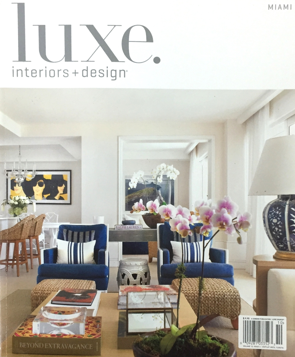 Luxe Interiors + Design September/October 2015