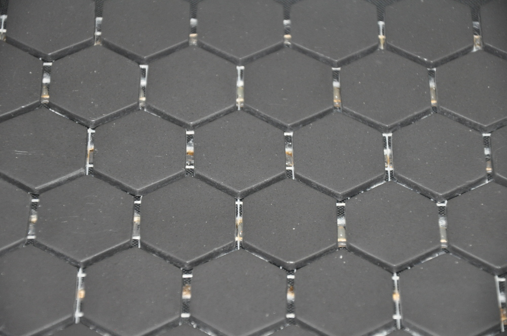 Hexagon Black Matte