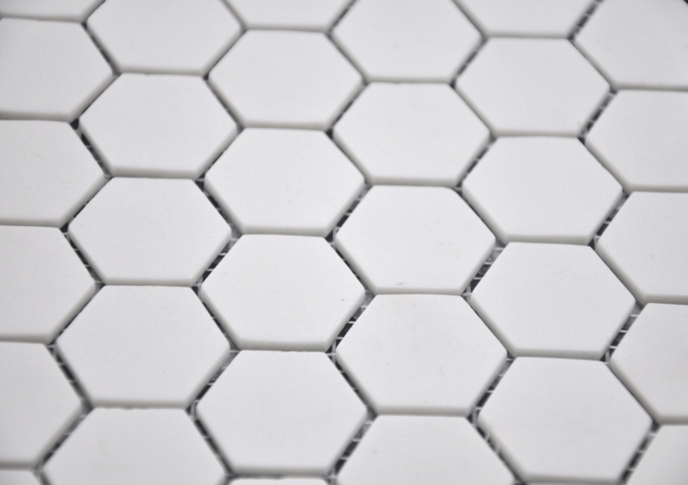 Hexagon Super White Matte