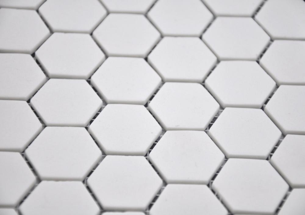 Hexagon Super White Matte