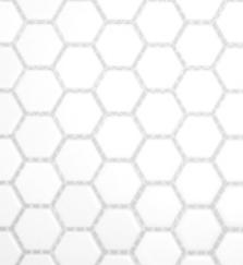 White Piccolo Hexagon