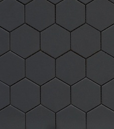Black Hexagon 2""