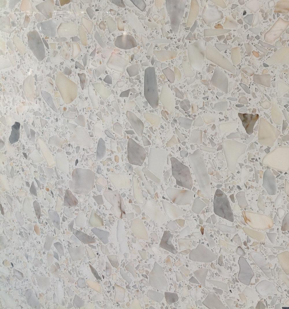 Calacatta White Terrazzo