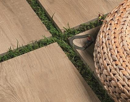 Wooden Caramel Paver